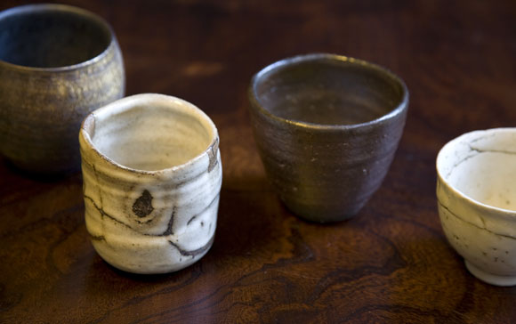 Using Japanese ceramics & Shochu cups.jpg